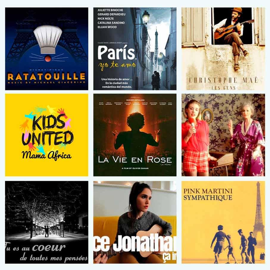 10 chansons en français