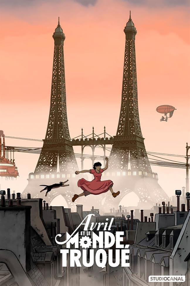 【法國電影】愛波的異想世界 Avril et le Monde truqué