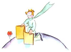 【法國文學】《小王子》第八章節