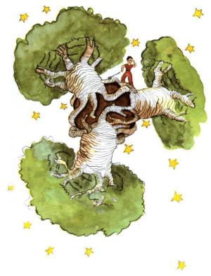 《小王子 Le Petit Prince》Ch. 5 猴麵包樹
