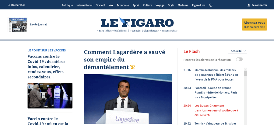 Le Figaro 費加洛報
