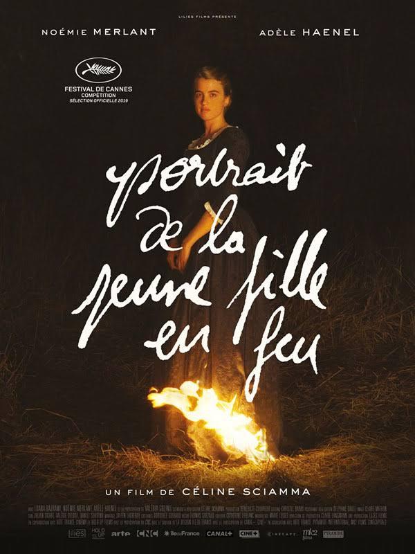 彩虹驕傲-精選五部法國LGBTQ電影 - 《燃燒女子的畫像Portrait de la jeune fille en feu》