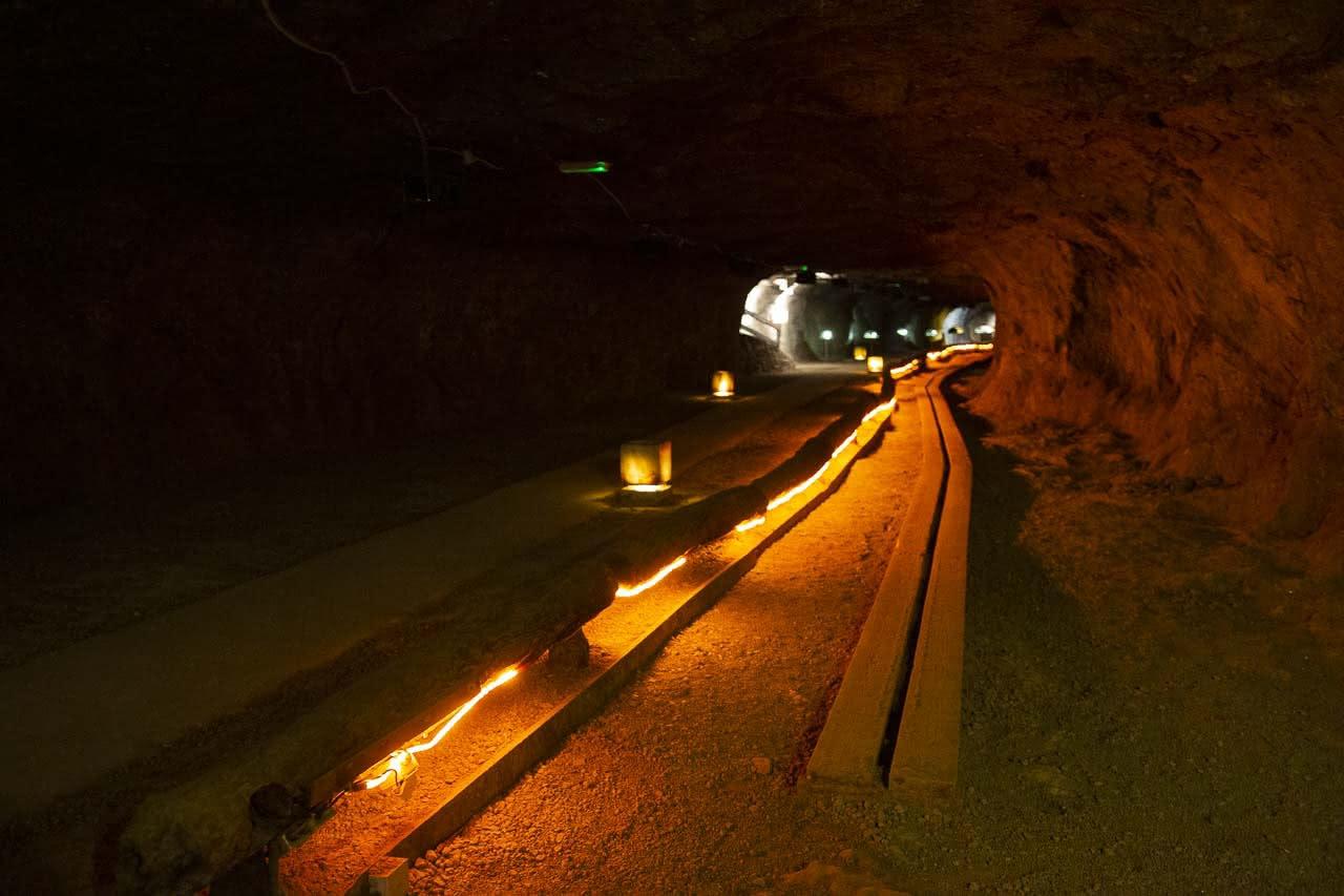 瑞士貝城(Bex)鹽礦礦洞